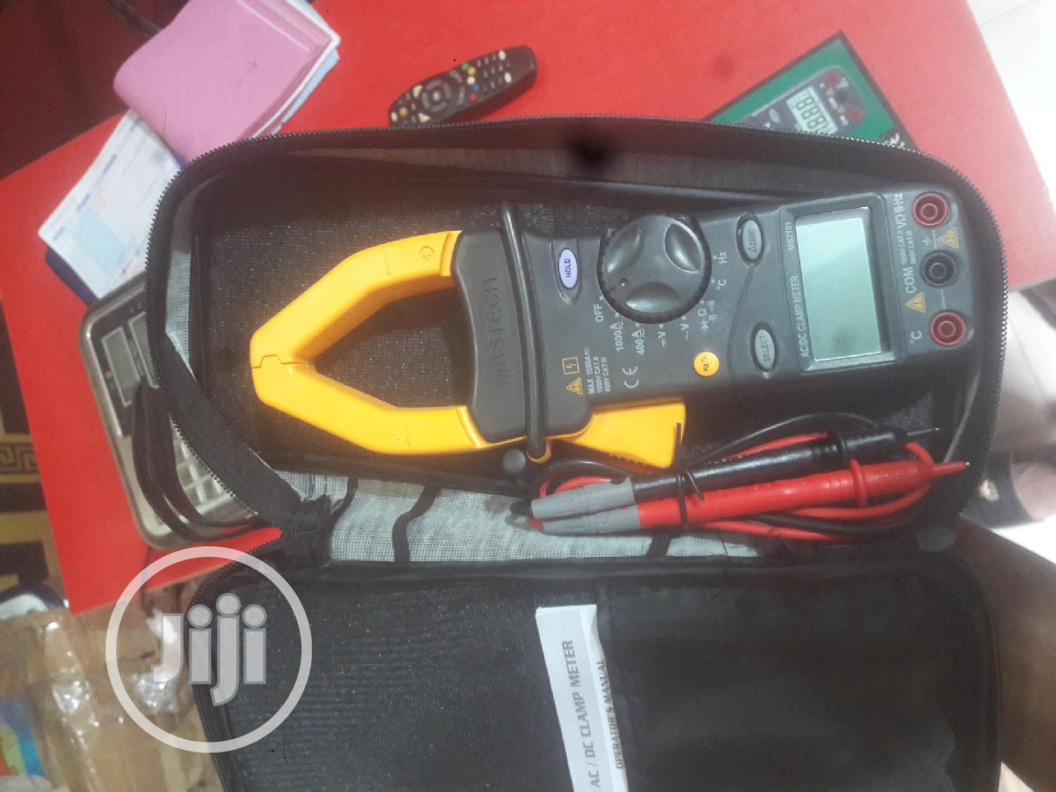 Mastech Digital Clamp Meter MS2001 Series | Measuring & Layout Tools for sale in Ojo, Lagos State, Nigeria