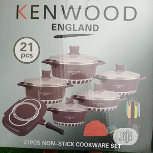 Kenwood Non-stick Pot Set 21pcs | Kitchen & Dining for sale in Lagos State, Isolo