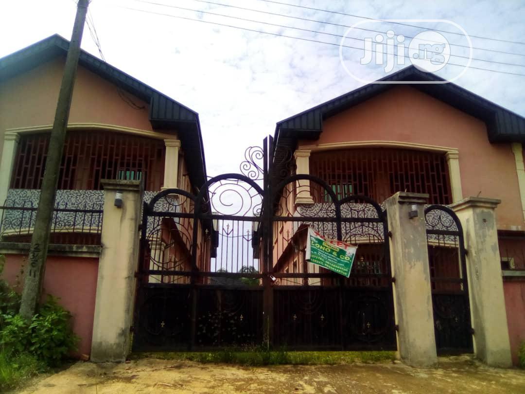 8-Flats of Three Bedroom Each on 100x100 at Ugbor Village Rd