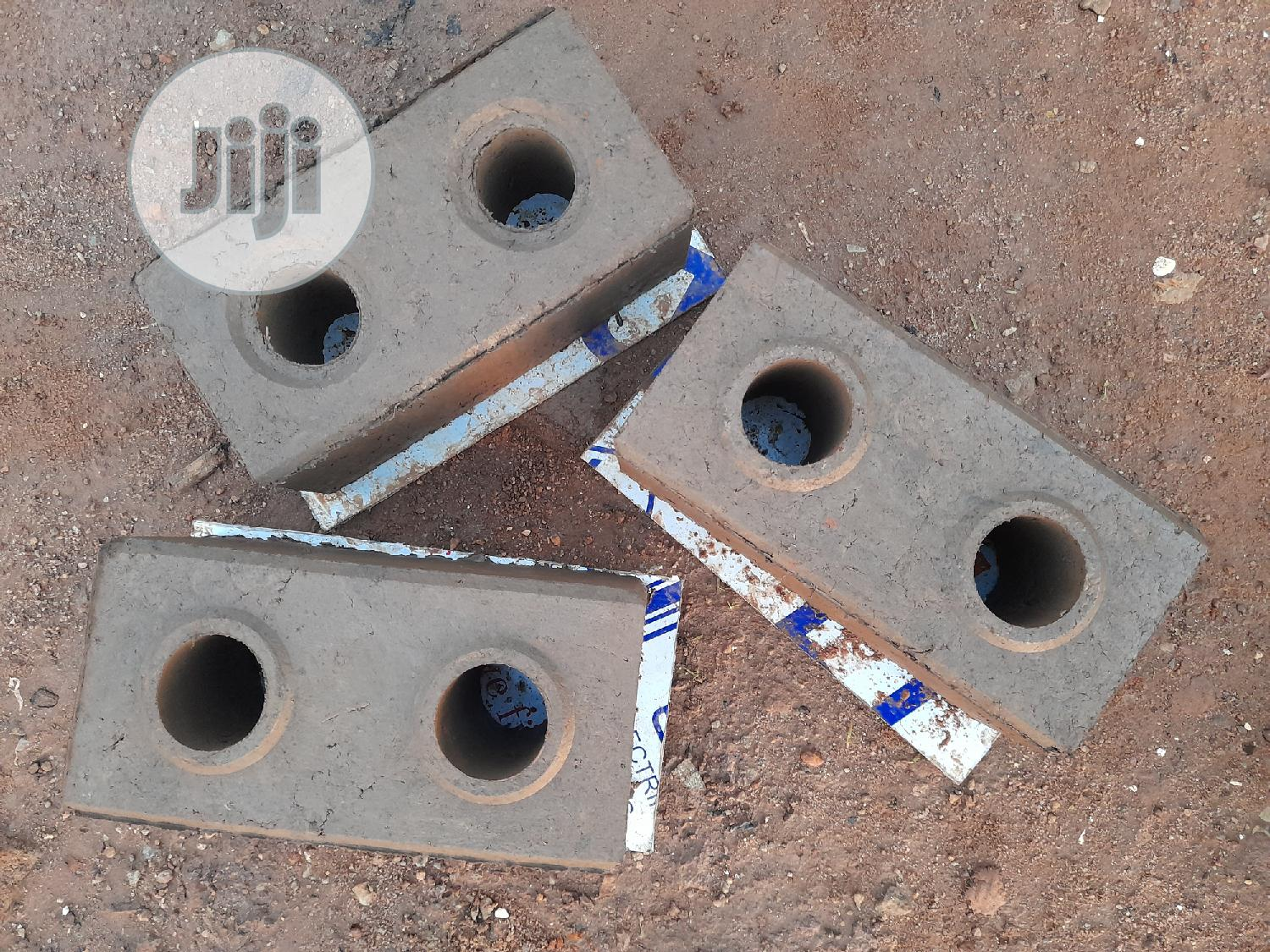 """Clay Bricks. Dimensions: 6"""" Height X 6"""" Width X 12"""" Length   Building Materials for sale in Gwarinpa, Abuja (FCT) State, Nigeria"""