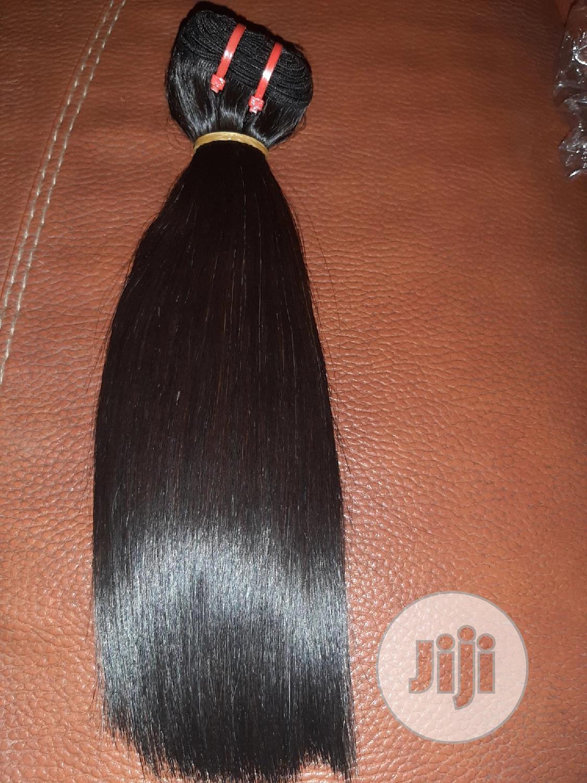 Super Double Drawn Bone Straight Raw Hair