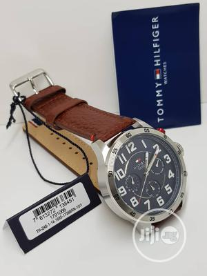 Tommy Hilfiger Leather Wrist Watch   Watches for sale in Lagos State, Lagos Island (Eko)