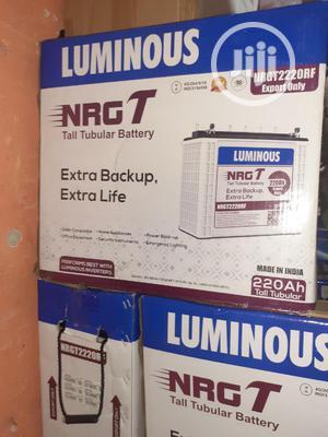 12v 220ah Tubular Battery Luminous | Solar Energy for sale in Lagos State, Ojo