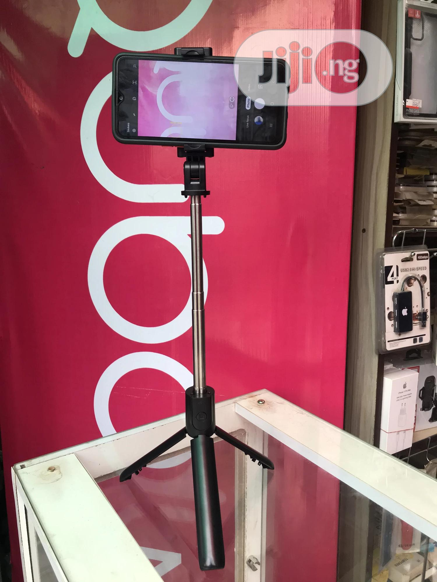 Porodo Selfie Stick With Tripod | Accessories for Mobile Phones & Tablets for sale in Ikeja, Lagos State, Nigeria