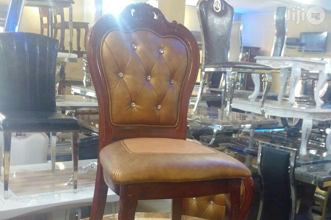 Royal Wooden Dinning Chairs(Complete Set Available)