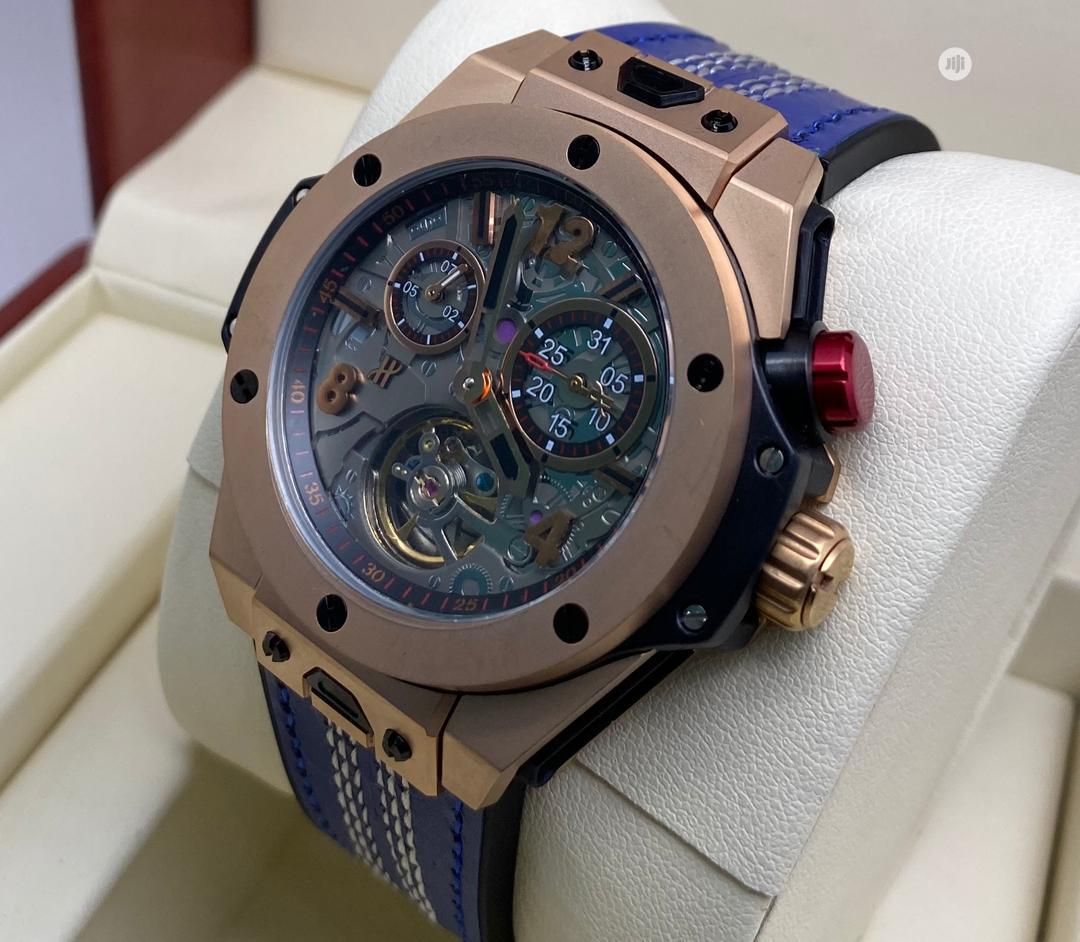 High Quality Hublot Rubber Strap Watch   Watches for sale in Ibadan, Oyo State, Nigeria