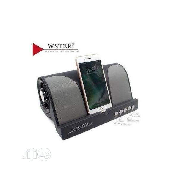 Wster Super Bass Bluetooth Wireless Speaker WS-1601 N26