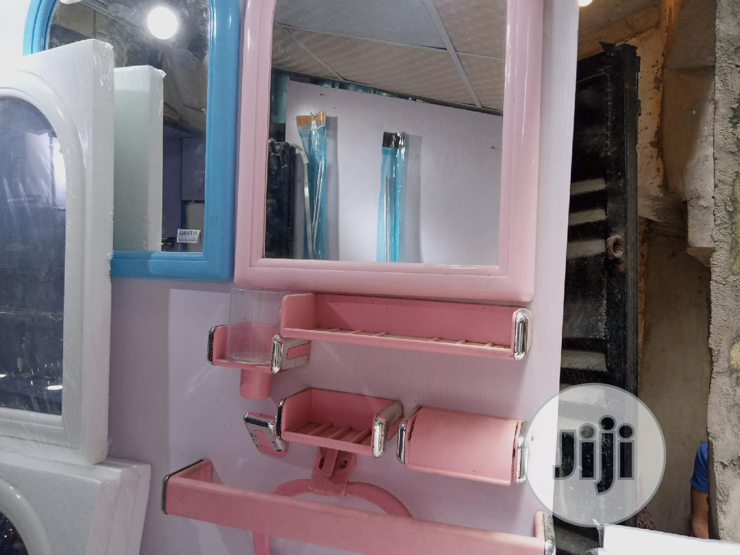 Bathroom Mirrow With Accessories | Home Accessories for sale in Wuse 2, Abuja (FCT) State, Nigeria