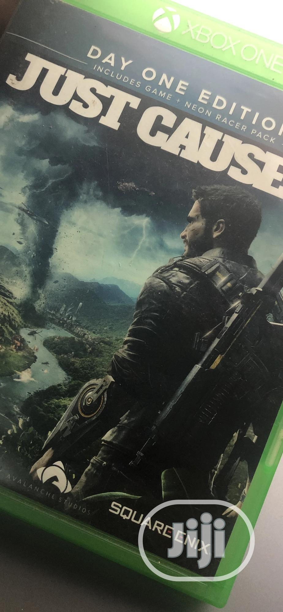 Archive: XBOX Just Cause 4