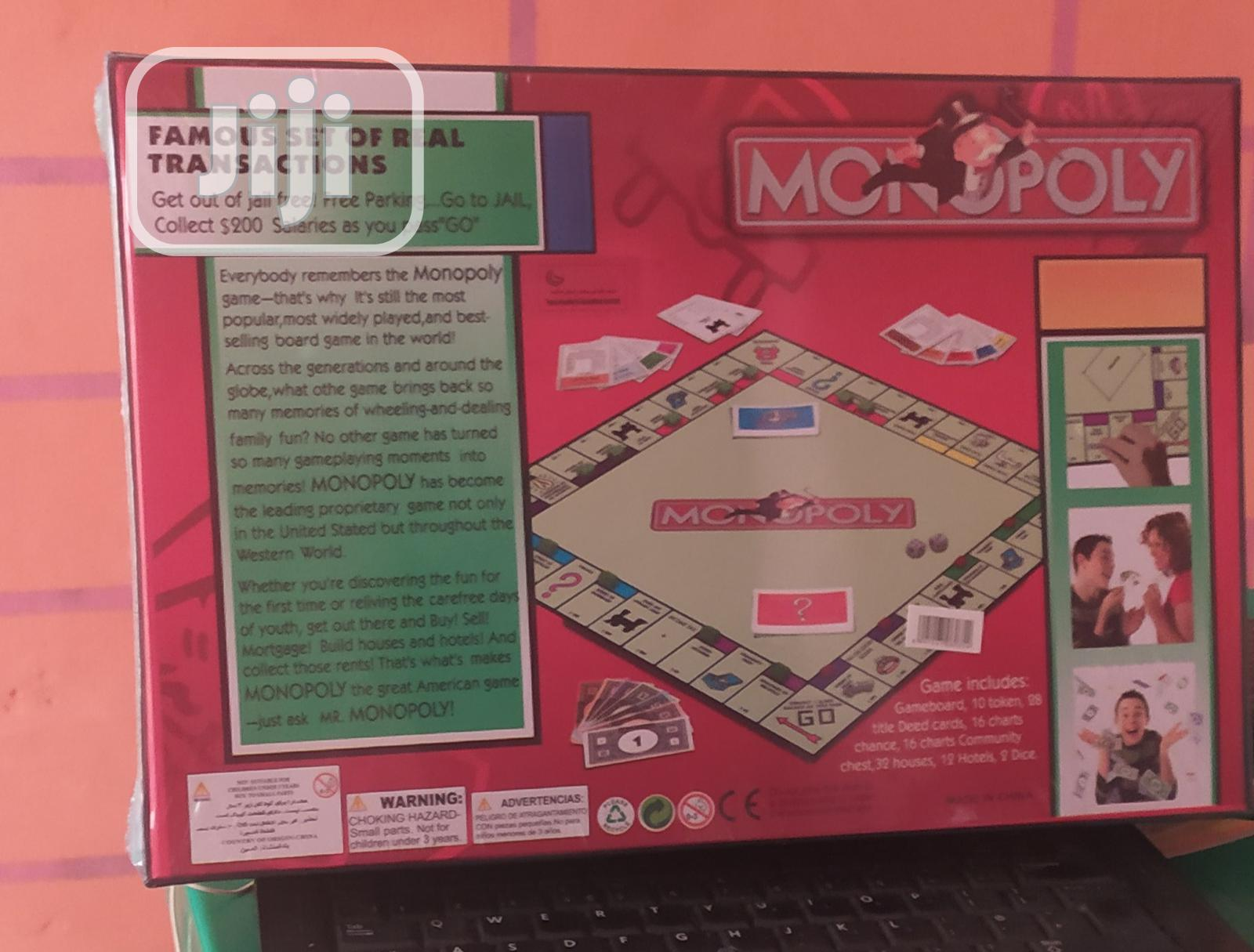 Original Monopoly Board Game | Books & Games for sale in Ikeja, Lagos State, Nigeria