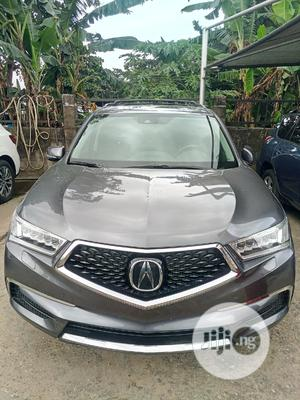 Acura MDX 2017 Base SH-AWD Gray   Cars for sale in Lagos State, Lekki