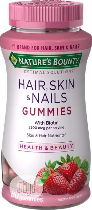 Nature's Bounty Optimal Solutions Hair, Skin and Nails Gummi | Vitamins & Supplements for sale in Lagos State, Amuwo-Odofin