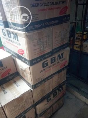 GBM 200ah Battery | Solar Energy for sale in Lagos State, Ojo