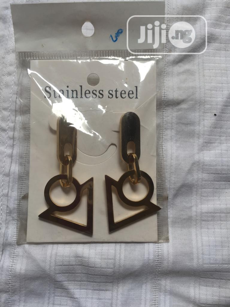 Stainless Steel Earrings | Jewelry for sale in Ajah, Lagos State, Nigeria