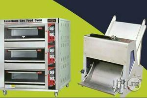 Gas Industrial Oven Ad Bread Slicer   Restaurant & Catering Equipment for sale in Lagos State, Ojo