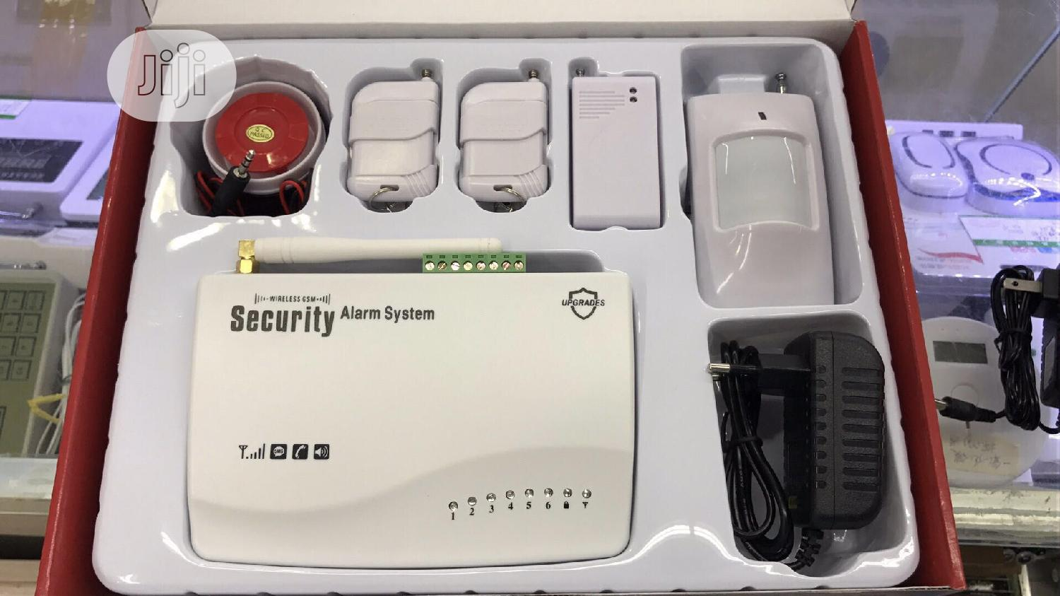 GSM Wireless Burglary Alarm System