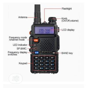 Baofeng UV-5R Dual Band Portable Radio. | Audio & Music Equipment for sale in Lagos State, Ikeja