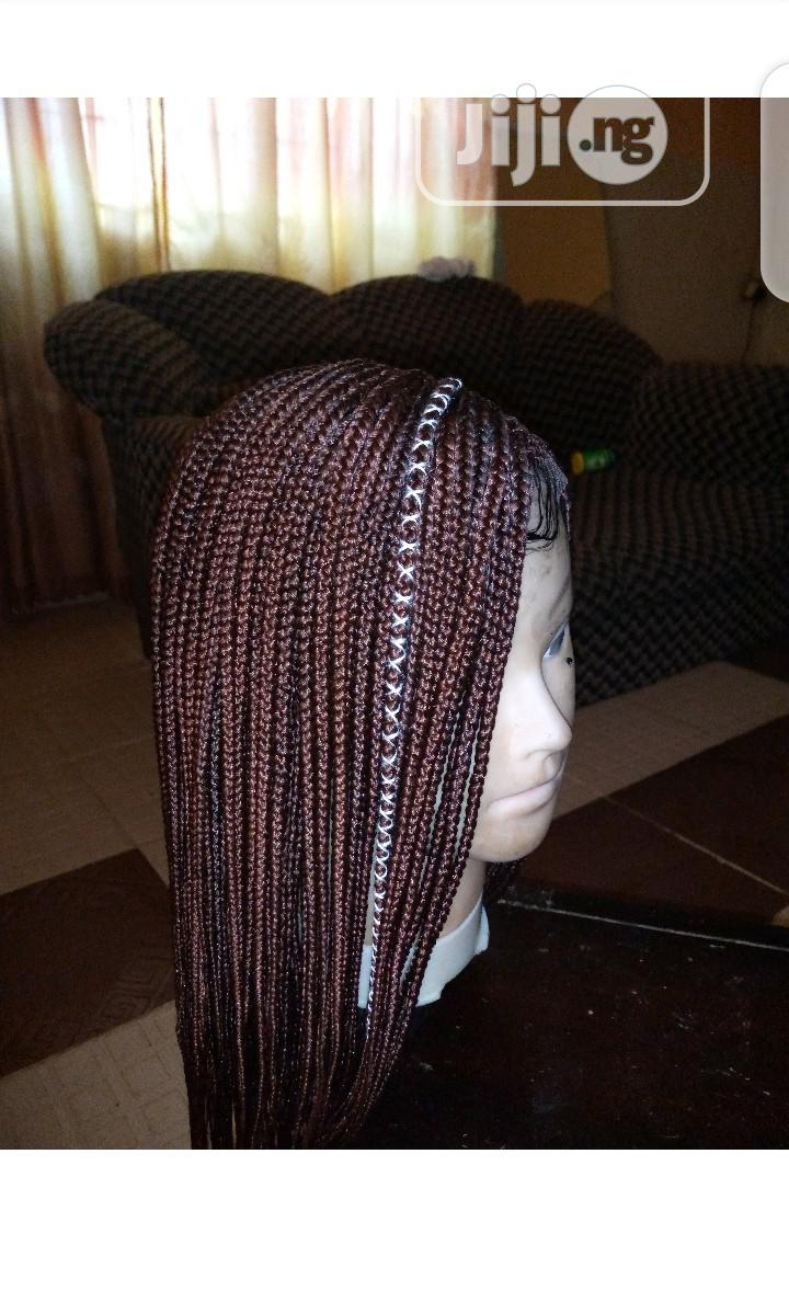 Archive: Ghana Weaving With Braids