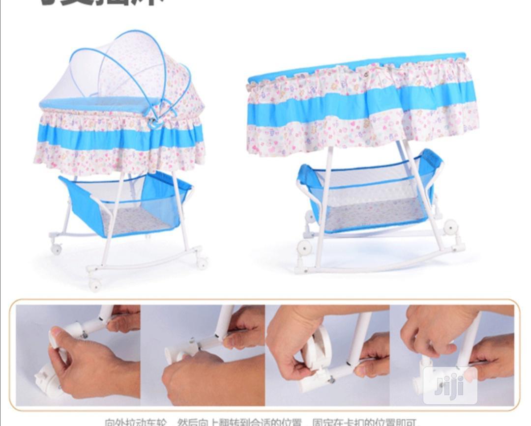 Destiny Baby Bassinet Bed | Children's Furniture for sale in Lagos Island (Eko), Lagos State, Nigeria