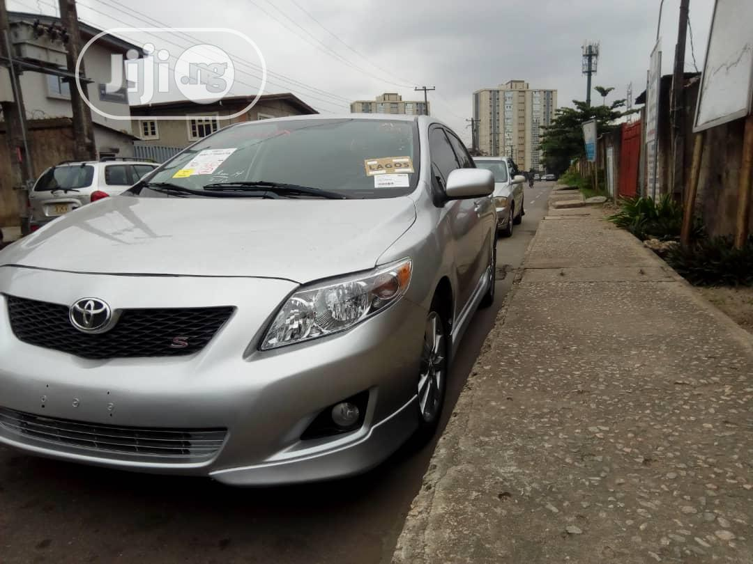 Toyota Corolla 2009 Silver In Surulere Cars Babatunde Emmanuel Jiji Ng For Sale In Surulere Buy Cars From Babatunde Emmanuel On Jiji Ng