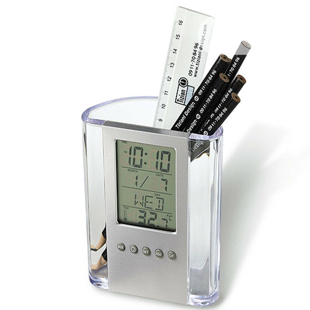 Pen Holder With Digital Clock & Temperature | Stationery for sale in Ikoyi, Lagos State, Nigeria