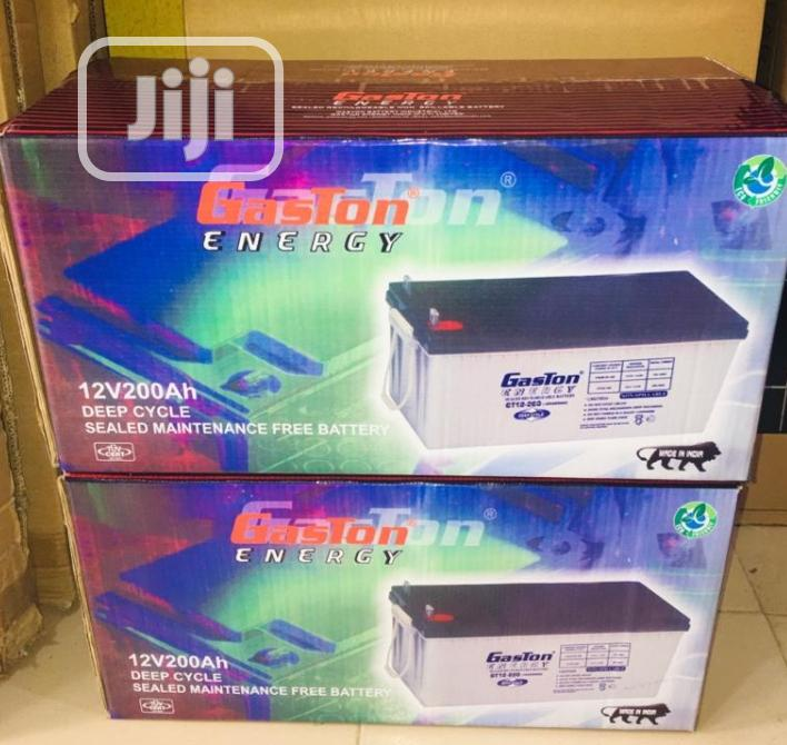 12v 200ah Gaston Battery Available Now In