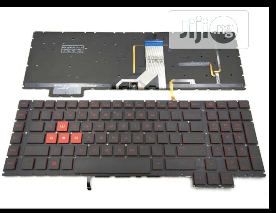 HP Omen 17-an 17-an00 Series Gaming Laptop Keyboard