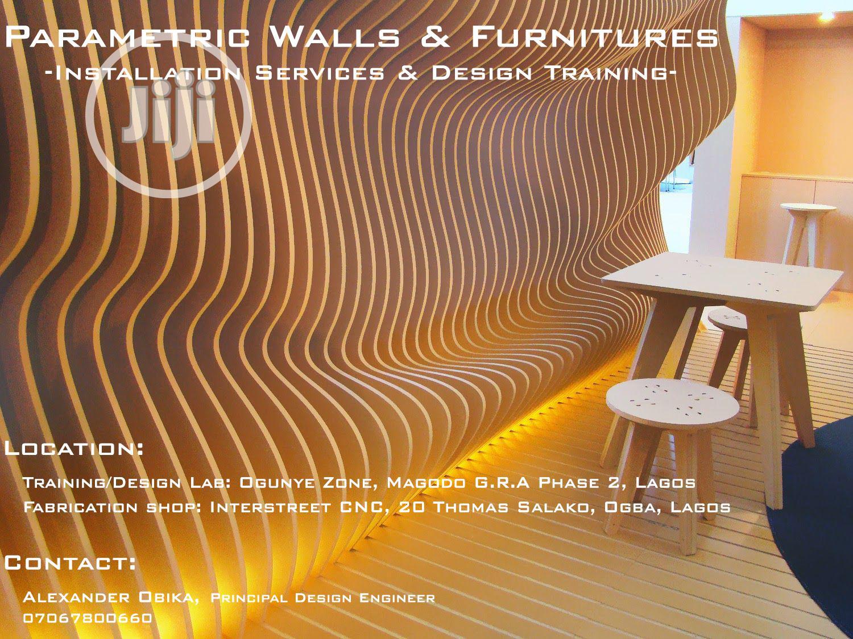 Parametric Walls & Furnitures - Design Training/Installation