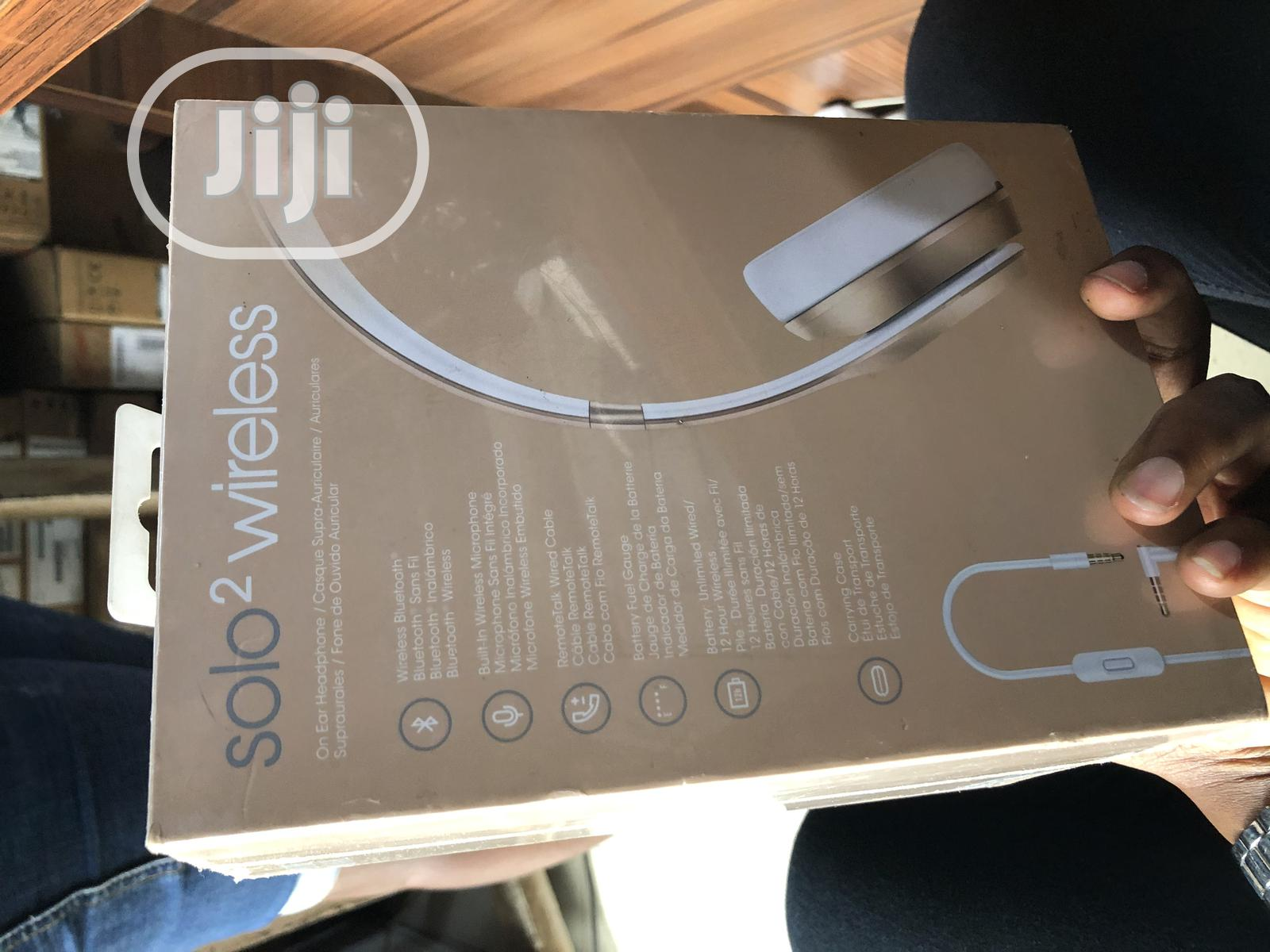 Beats Solo Wireless | Headphones for sale in Ikeja, Lagos State, Nigeria