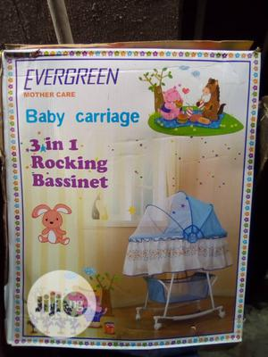 Evergreen 3 In 1 Bassinet | Children's Furniture for sale in Lagos State, Lagos Island (Eko)
