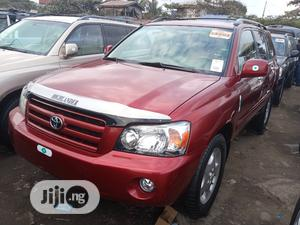 Toyota Highlander 2007 Limited V6 4x4 Red   Cars for sale in Lagos State, Apapa