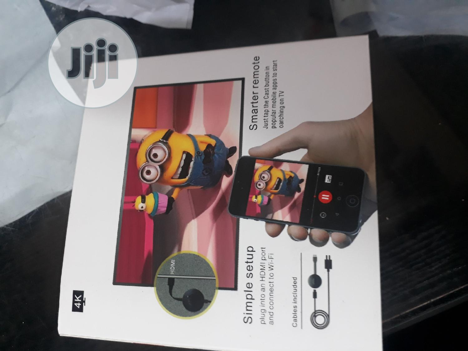 Google Chromecast Tv Streaming Device   Accessories & Supplies for Electronics for sale in Ikeja, Lagos State, Nigeria