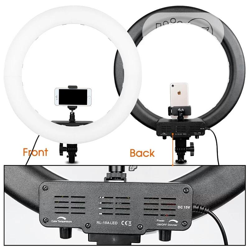 18 Inch Selfie Ring Light With Tripod Stand   Accessories & Supplies for Electronics for sale in Lekki, Lagos State, Nigeria