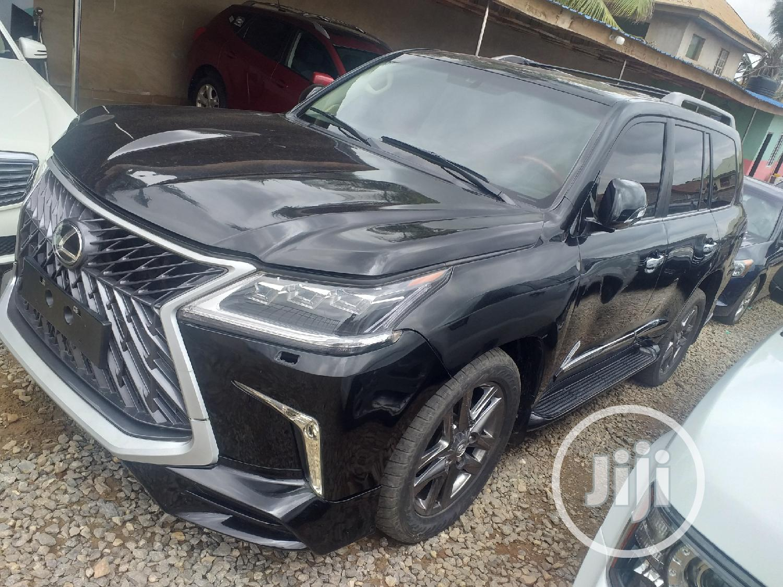 Lexus LX 570 2008 Black | Cars for sale in Ojodu, Lagos State, Nigeria