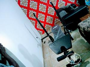 Original Weight Bench With 50kg Weight Plates Dumbbell | Sports Equipment for sale in Lagos State, Badagry