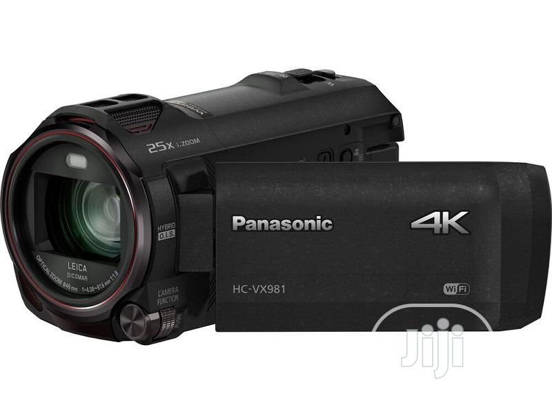 4K HD Camcorder With Wifi