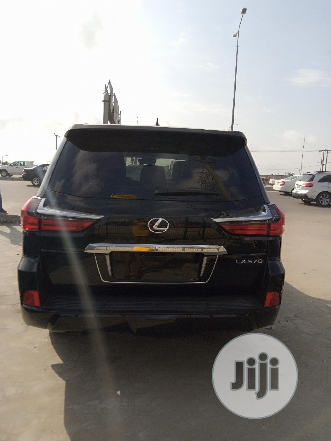 Lexus LX 2018 570 Two-Row Black | Cars for sale in Ajah, Lagos State, Nigeria