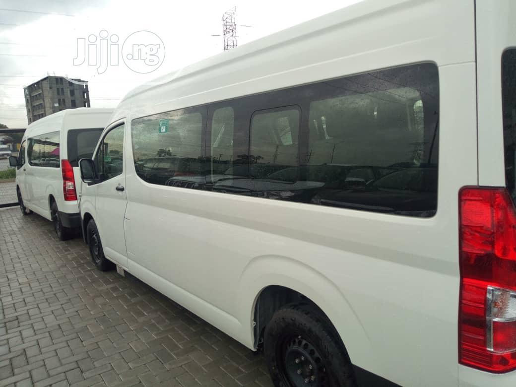 New Toyota Hiace Bus 2020 White