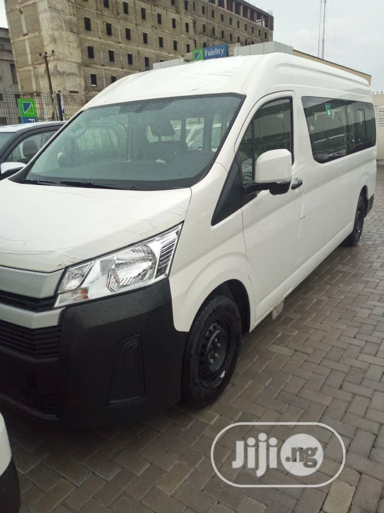 New Toyota Hiace Bus 2020 White   Buses & Microbuses for sale in Amuwo-Odofin, Lagos State, Nigeria