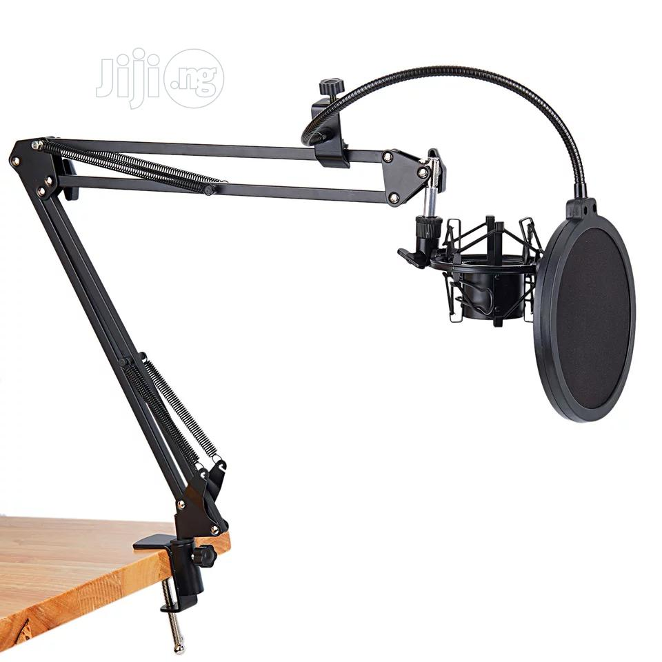 Full Studio Table Mic Stand For Recording