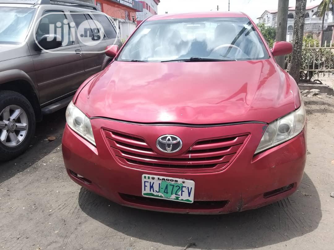 Toyota Camry 2008 Red In Amuwo Odofin Cars Autohub Nigeria Jiji Ng For Sale In Amuwo Odofin Buy Cars From Autohub Nigeria On Jiji Ng
