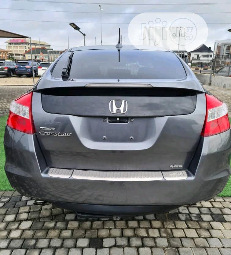 Honda Accord CrossTour EX-L AWD 2010 Gray | Cars for sale in Lekki, Lagos State, Nigeria