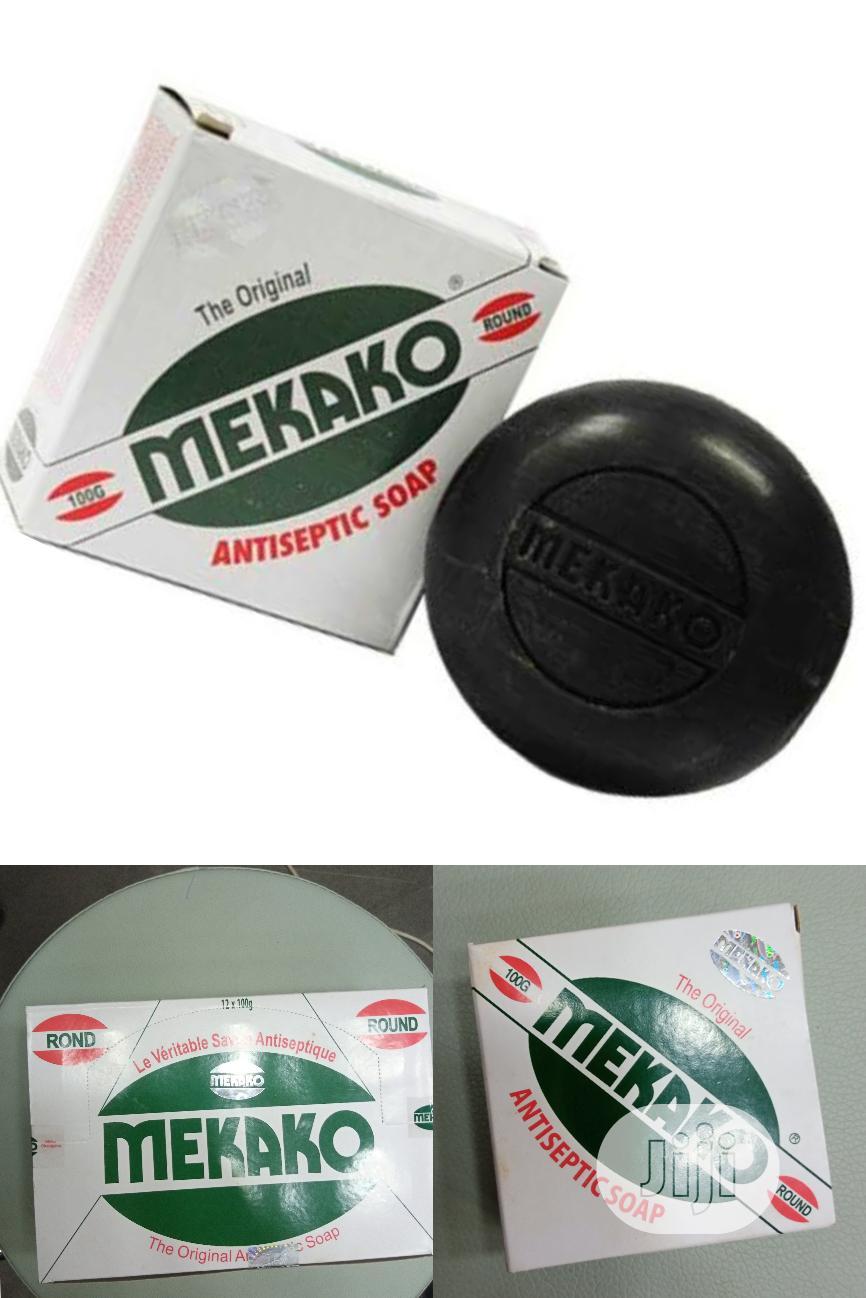 Mekako Antiseptic Soap Eliminate Body Odour, Rashes. 6 Packs