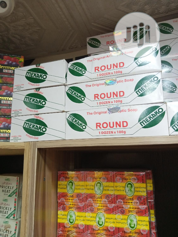 Mekako Antiseptic Soap Eliminate Body Odour, Rashes. 6 Packs   Bath & Body for sale in Amuwo-Odofin, Lagos State, Nigeria