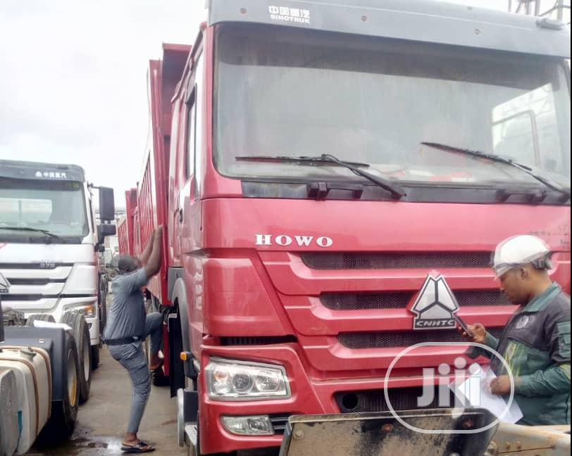 Very Clean Foreign Used Howo Tippers for Sale in Lagos ...
