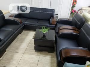 Quality Leather Complete Set Of Sofa Chair | Furniture for sale in Abuja (FCT) State, Wuse