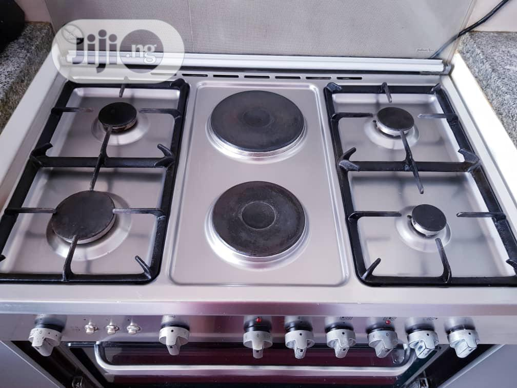 Archive: IGNIS 6-burner Gas Cooker With Oven