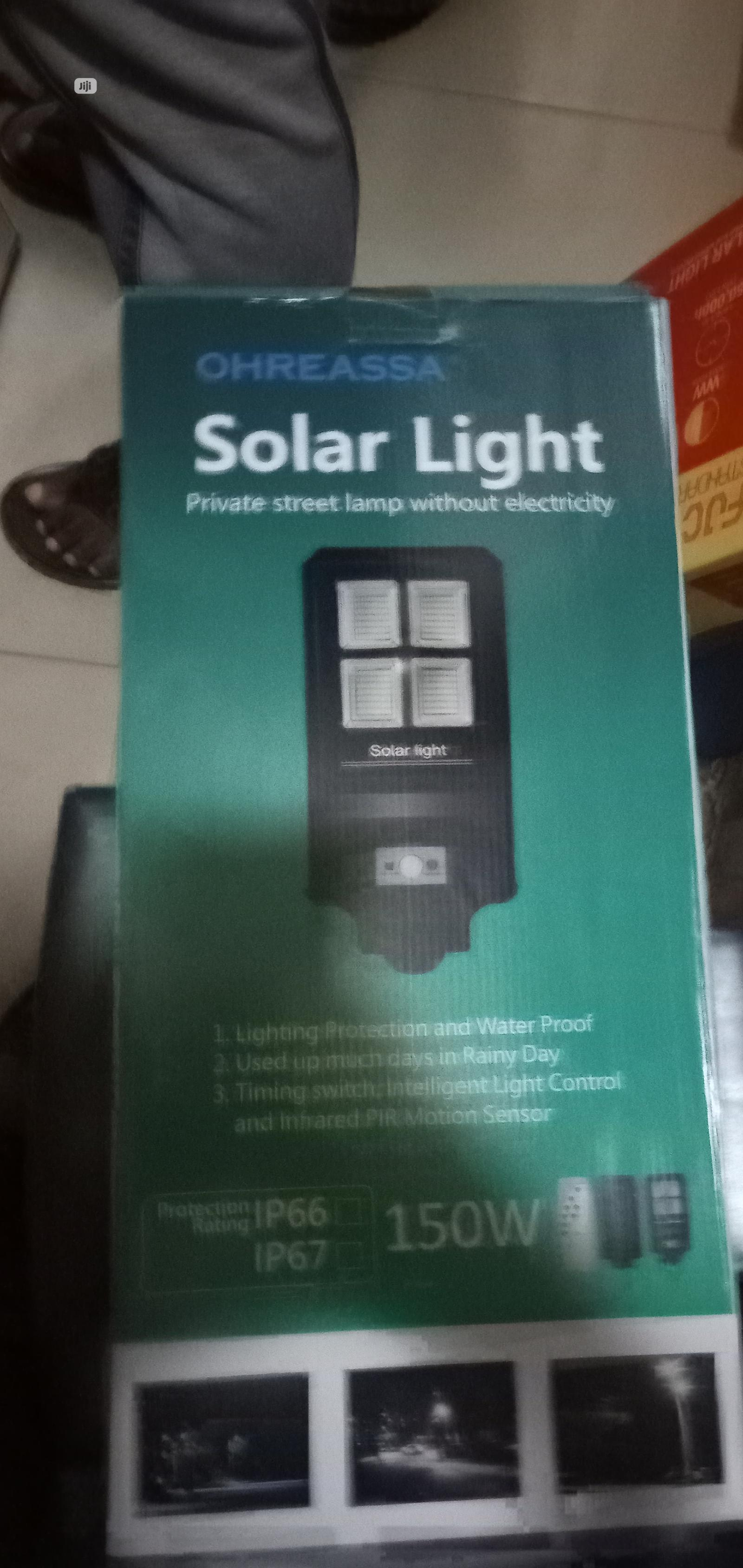 150w Solar Flood Light Is Use As A Security Light Nd Is Brit