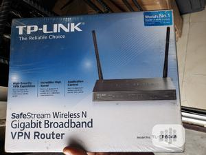 Tp-link Wireless N Gigabit Broadband Vpn Router | Networking Products for sale in Lagos State, Ikeja