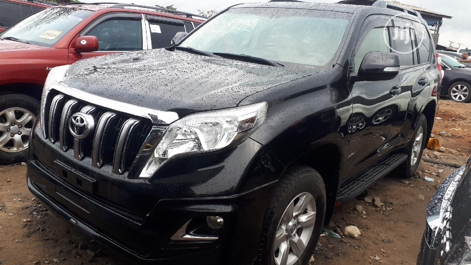 Toyota Land Cruiser Prado 2016 Black
